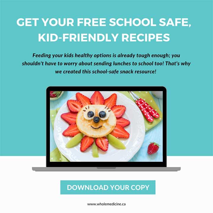 Download helthy, school-safe recipes.